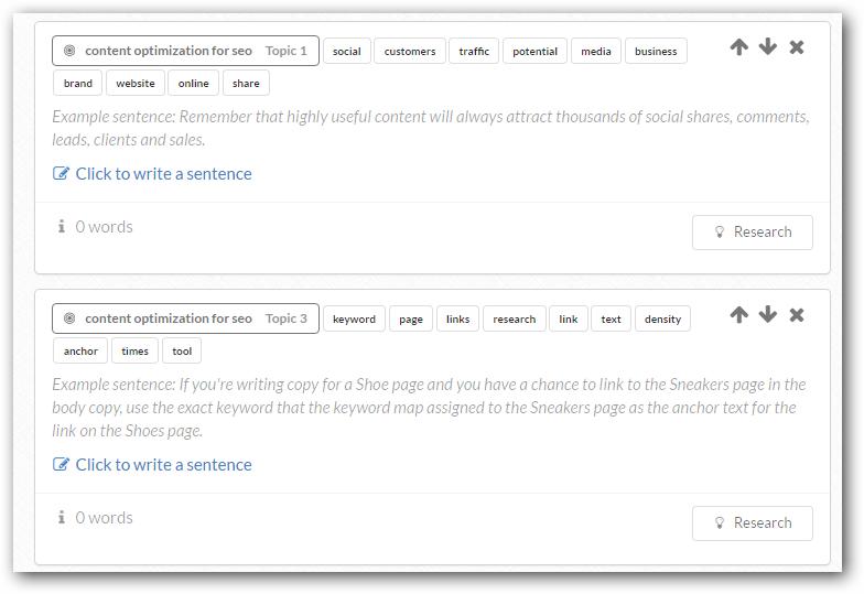 keyword-groupings