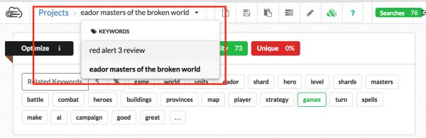change-keyword-targeting