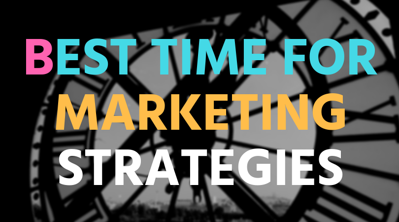When is the best time to market?