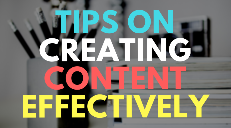 Tips on how to write content efficiently