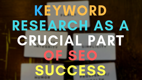 Keyword research as a crucial part of SEO success